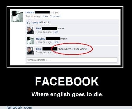 Facebook : Language :: Florida : Old People