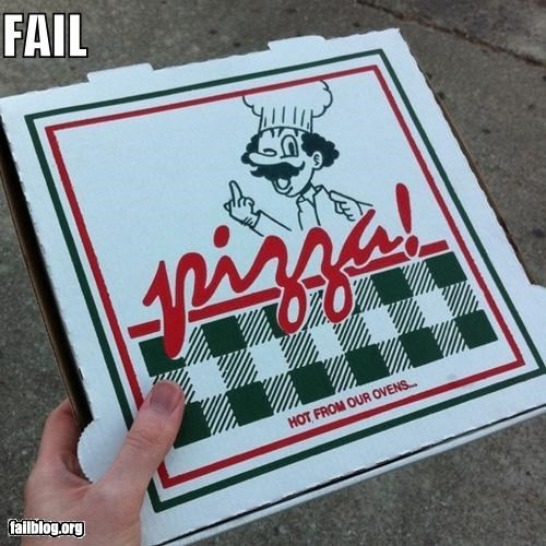 Pizza Box FAIL
