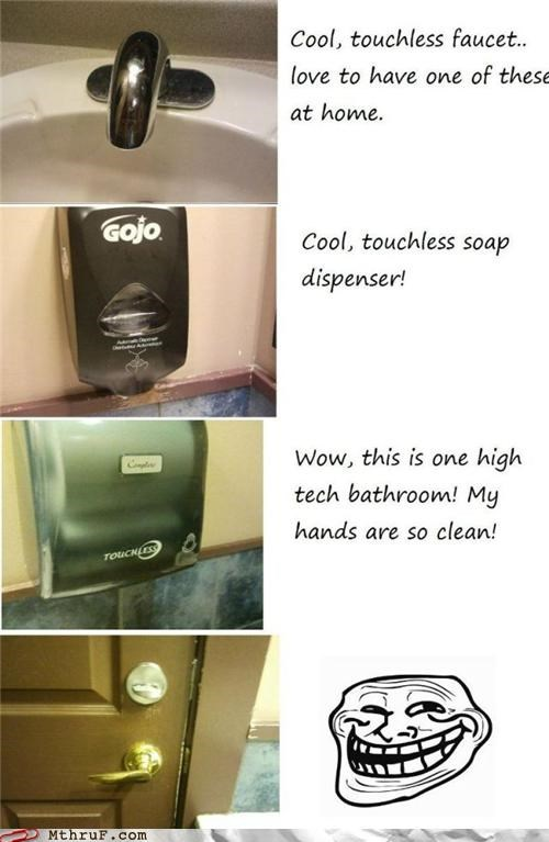 Troll Bathroom