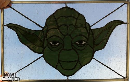 art,gallery,glass,pop culture,stained glass,star wars,transformers,video games