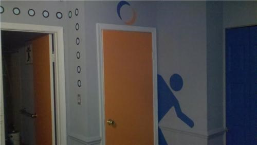 Portal Bedroom of the Day