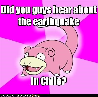 Earthquake?