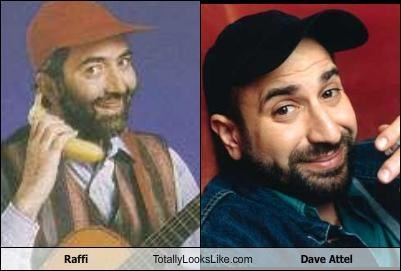 TLL Classics: Raffi Totally Looks Like Dave Attel