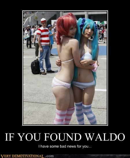 IF YOU FOUND WALDO