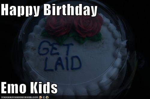 Happy Birthday  Emo Kids