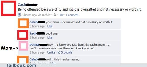 Owned by Mom. Ouch.