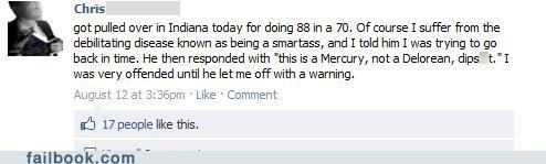 DeLorean,Indiana,mercury,sarcasm
