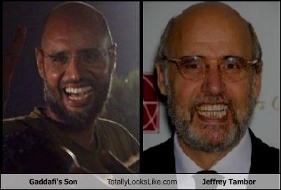 Gaddafi's Son Totally Looks Like Jeffrey Tambor
