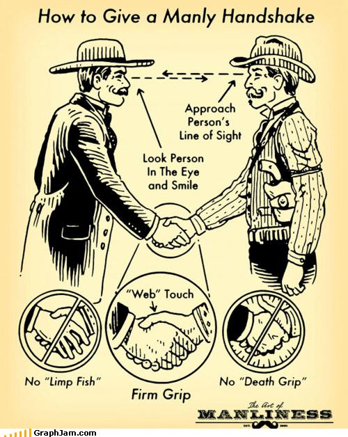 best of week,handshake,line of sight,manly