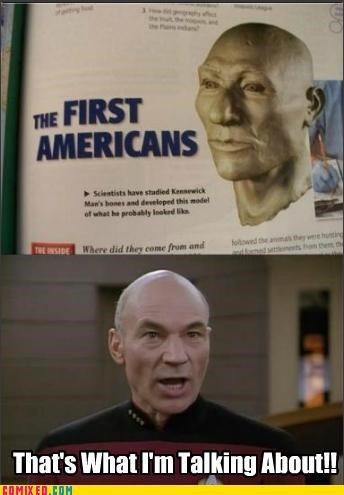 Jean-Luc Picard: The First American