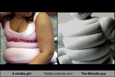 TLL Classics: This Chubby Girl Totally Looks Like The Michelin Man