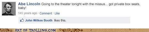 assassination,facebook,lincoln,theater