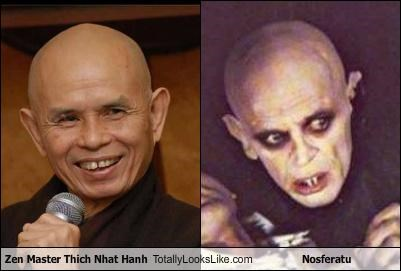 bad teeth,bald,ears,horror movies,nosferatu,scary,zen,zen master
