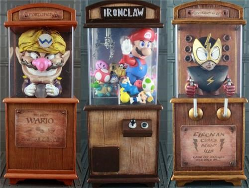 Nintendo Boardwalk Cabinets of the Day