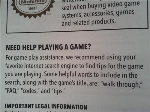 Nintendo Hotline Nostalgia of the Day