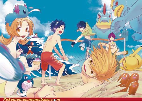Pokémon Beach Party