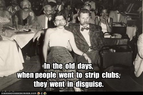 Visiting Strip Clubs Was Tricky Business