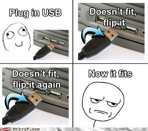 My Old Nemesis, USB Insertion