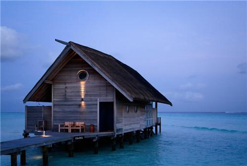 Ocean Bungalo on Cocoa Islands, Maldives