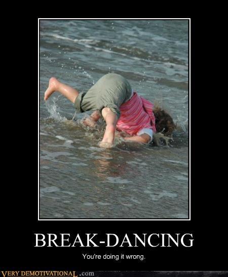 beach,break dancing,hilarious,ocean,wrong