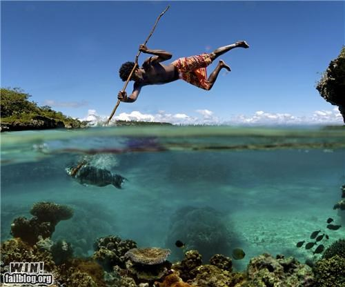 Spear Fishing WIN
