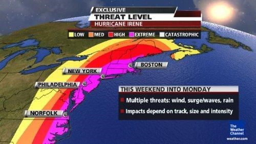 Hurricane Irene News Update