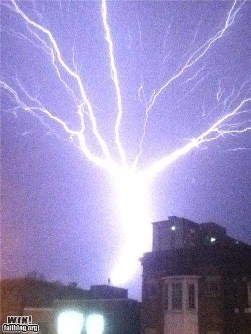 Mother Nature FTW: Thank Goodness for Lightning Rods