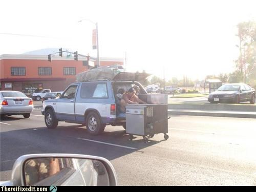 cars,safety first,towing,wtf