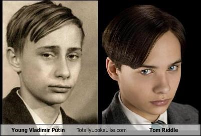 Young Vladimir Putin Totally Looks Like Tom Riddle