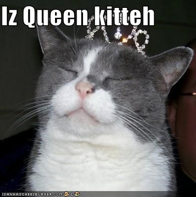 Iz Queen kitteh