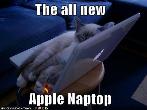 The all new  Apple Naptop