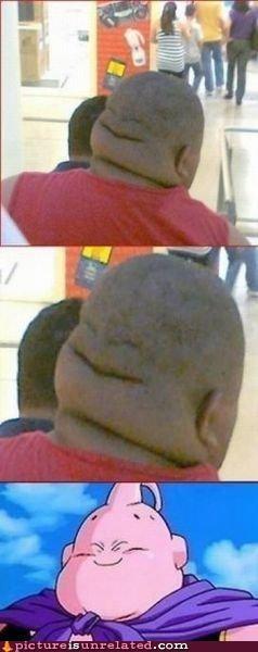 bald,best of week,dragonball z,fat guy,majin buu,TV