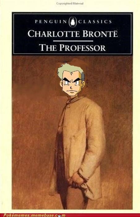 Pokébooks: The Professor