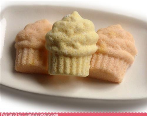 Vanilla Cupcake Bath Bombs