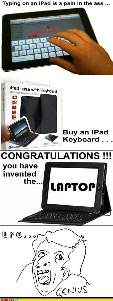 apple,best of week,but then i,idiot,ipad,keyboard,laptop,savant,Tech