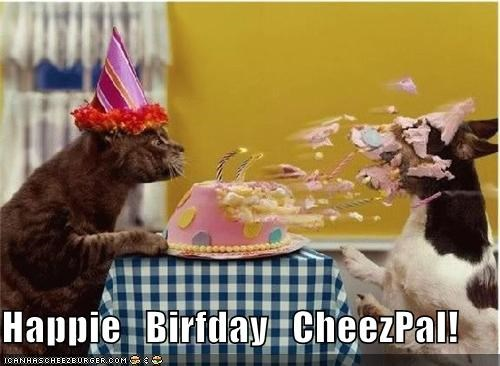 Happie   Birfday   CheezPal!