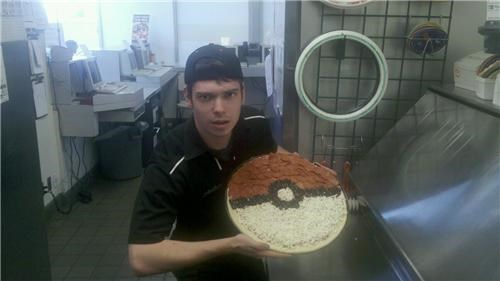 Pokéball Pizza of the Day