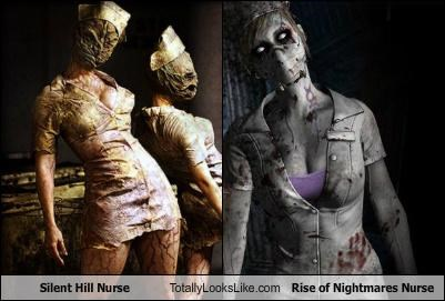 Silent Hill Nurse Totally Looks Like Rise of Nightmares Nurse