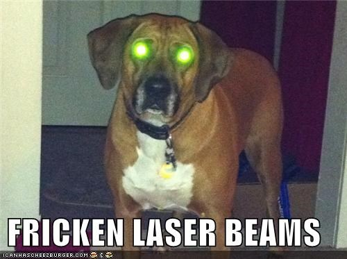 FRICKEN LASER BEAMS