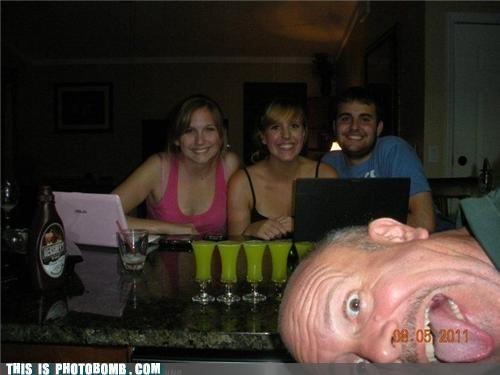 creepy old dude,drunk,Jägerbombed,shots,wasted
