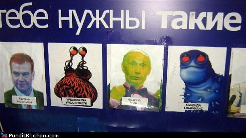 Dmitry Medvedev,political pictures,russia,STDs,Vladimir Putin
