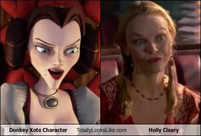 Donkey Xote Character Totally Looks Like Holly Cleary