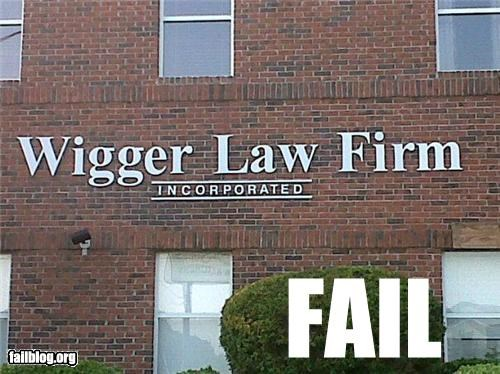 Law Firm Demographics FAIL