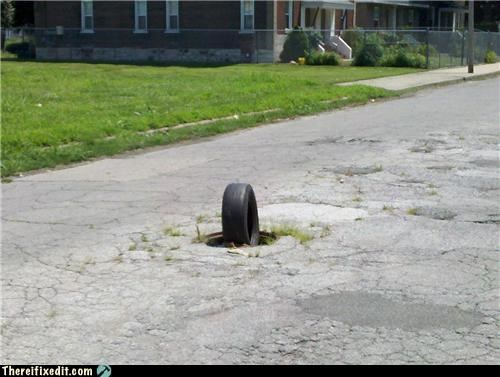 Round Tire, Round Hole. What's The Problem?