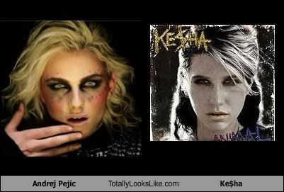 Andrej Pejic Totally Looks Like Ke$ha