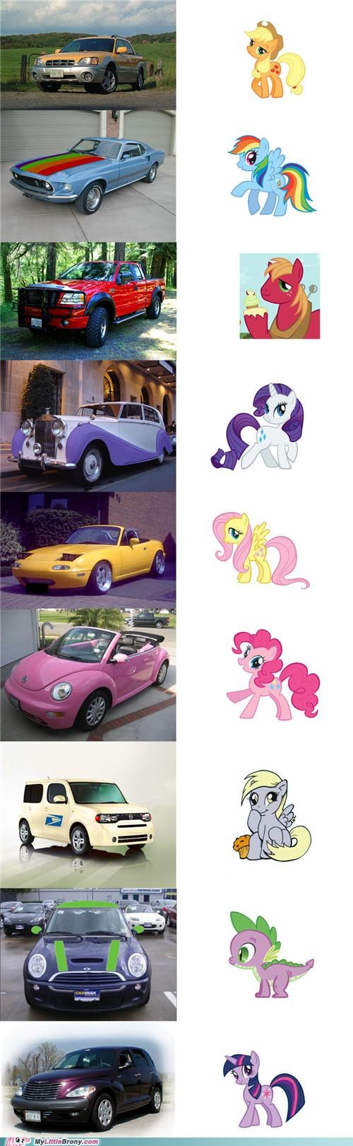Quick, to the Ponymobile!