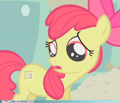 Cutie Mark Not Visible