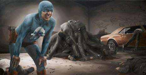 Aging Superhero Paintings of the Day