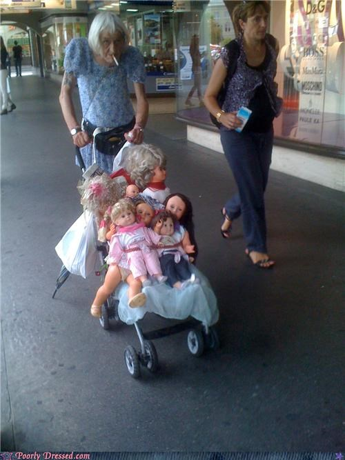 doll,dolls,stroller,walking