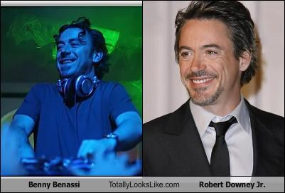 Benny Benassi Totally Looks Like Robert Downey Jr.
